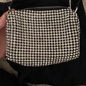 Alexander wang party handbag glitter